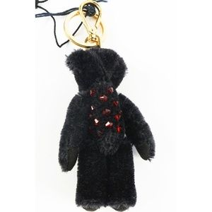 Prada Bags - Prada Mohair and Swarovski Crystals Bag Charm Bear